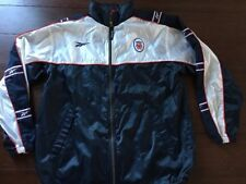 REEBOK Mens LIVERPOOL Jacket, Warm Up Track, XL, CARLSBERG, Red White Blue, EUC
