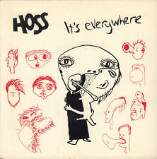 "HOSS - It's Everywhere (1992 PUNK/ROCK VINYL SINGLE 7"" AUSTRALIA)"