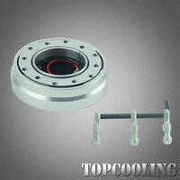 Universal Quick Release Steering Wheel Hub Adapter Snap Off Boss Kit 6 Hole AU