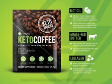 New Product Keto Coffee It Works NEW! 60 Single Packets