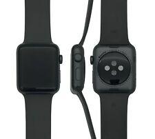 Apple Watch Series 3, 42mm Aluminium in Spacegrau mit Sportarmband in Grau, MR36