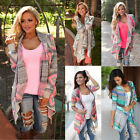 Women Cardigan Loose Sweater Long Sleeve Knitted Cardigan Outwear Jacket Coats