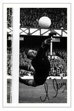 Lev Jaschin URSS autógrafo firmado foto impresión de fútbol