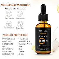 Vitamin C Serum for Face with Hyaluronic Acid Vitamin E Best Skin Anti-Aging 1oz