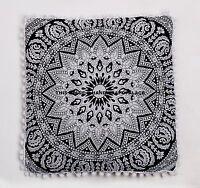 Indian Euro Sham Throw Pillow Cases Large Mandala Meditation Boho Cushion Cover