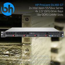 HP ProLiant DL360 G7 - 2x X5650 Intel Xeon Six 6 Core, 24GB DDR3 1U Rack Server