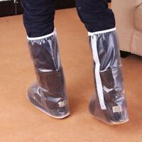 DCP Rainproof Shoes Cover Zippered Rainshoes Reusable Waterproof Shoes XXL