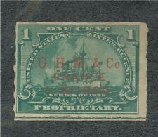 RB-24   G.H.M.&.Co.  France  1/10-1900   in red....RARE................. 160470