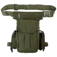 SHOULDER HIP BAG WAIST MULTI PACK BELT POUCH HIKING CAMPING TRAVEL OLIVE GREEN