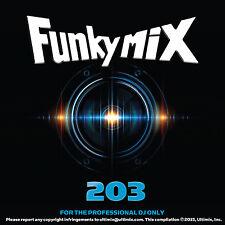 Funkymix 203 CD Ultimix Records Travis Scott Selena Gomez Adrian Marcel Curren$y