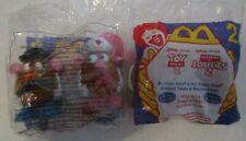 McDonalds Happy Disney's Pixar Toy Story 2 Mr. & Mrs. Potato Head Wind Up NIP