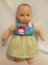 """15"""" Bitty Baby/18"""" American Girl Doll Christmas winter dress Clothes fit outfit"""