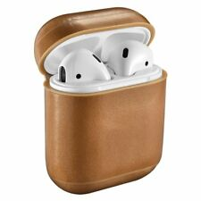 ICARER Genuine Leather Shockproof Protective Case Cover for Apple Air Pod