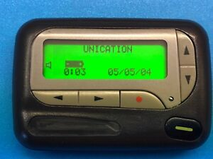 Unication Elite Alphanumberic Pager, 900Mhz, Flex, Synthesized