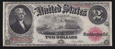 US 1917 $2 Legal Tender STAR NOTE* FR 60* VF (-047*)