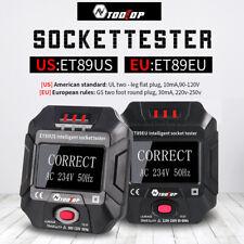 Smart Socket Tester Frequency Voltage Test Socket Detector 90~250V/45~ 65Hz
