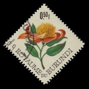 """BURUNDI 141 - """"Protea argyrea"""" Flowers (pf44021)"""