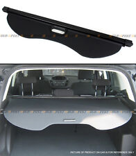 For 2013-2018 Ford Escape Rear Trunk Retractable Cargo Cover Luggage Shade Black