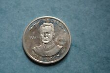 Médaille jeton en argent Roi Baudoin 1930-1993