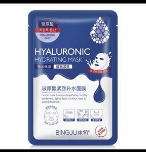 Best  Hyaluronic  Acid Intensive Moisturising  Sheet Face Mask, Deep Hydrationx3