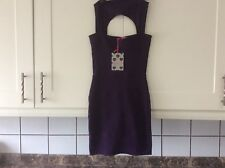 Ladies size 6 purple  stretch dress from boohoo