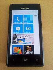 Samsung Omnia 7 i8700 8GB Black Unlocked Smartphone 5MP Digital Camera Windows I