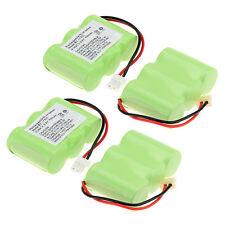 4Pcs 400mAh 3.6V Home Phone Battery Use for Vtech BT-17333 BT17333 BT-163345