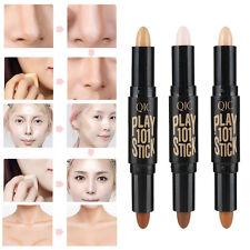 Face Eye Foundation Concealer Highlight Contour Pen Stick Makeup Natrual Cream