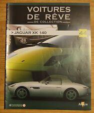 Fascicule Voitures de rêve de collection, Altaya, n°44, Jaguar XK 100