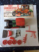 VINTAGE AIRFIX No 1394, 1907 LANCHESTER  LANDAULETTE MODEL CAR. Partly Made Kit
