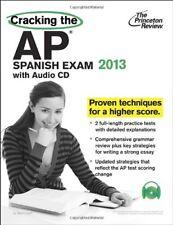 Cracking the AP Spanish Exam with Audio CD, 2013 E