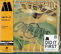 COMMODORES-NATURAL HIGH-JAPAN CD Ltd/Ed B63