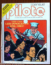 Pilote Mensuel n°40 du 9/1977; Les innocents d'el oro