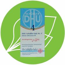 Schüßler Salz Nr.4 Kalium chloratum D6 DHU Globuli PZN 10545893