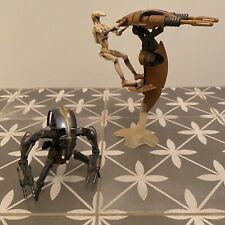 Star Wars Episode 1 Phantom Menace - Destroyer Droid & Stap Battle Droid Bundle