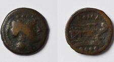 Triens Bronze Römische Republik 211-210 v.Chr. Mittelitalien Minerva Prora