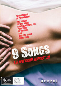 9 Songs (DVD) - Banned in South Australia - ACC0038 (limited stock)