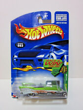 2002 HOT WHEELS - TREASURE HUNT - '57 ROADSTER  WITH REAL RIDERS - #3 of #12