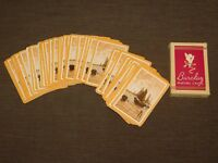 VINTAGE  MADE IN U.S.A. BARCLAY SAILING SHIP SATIN FINISH PLAYING CARDS