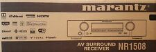 Marantz nr1508 5.2 AV Receiver 4K Airplay Wi-Fi Bluetooth Heos Black -New & OVP