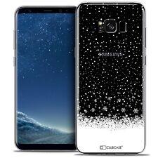 Coque Crystal Gel Pour Samsung Galaxy S8 (G950) Extra Fine Souple Noël 2016 Floc