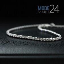Tennisarmband 925 echt Sterling Silber Damen Armband Zirkonia 2.01ct Glitzer