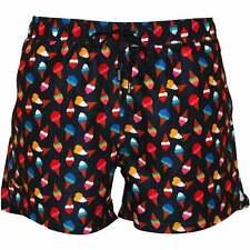 Happy Socks Helado conos pantalones cortos de baño para hombre, marino /multi
