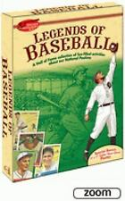 Dover Discovery Kit LEGENDS OF BASEBALL Coloring Cards Poster New 2009 Boxed Set