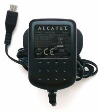 Genuine Alcatel EU/Reino Unido pared Home viaje cargador de red (5v 400mA) - Micro Usb