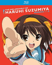 The Melancholy Of Haruhi Suzumiya: Seasons One And Two [New Blu-ray] Boxed Set