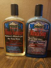Miracle II Miracle Soap And Neutralizer 22 oz. Both 90% Full