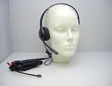 HW351N Mono Headband Headset for Avaya Toshiba Polycom Hybrex Commander NT40 NEC