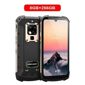 """Conquest S16 Rugged Waterproof 6.3"""" Android Phone 8Gb + 256Gb Infrared UV Sensor"""