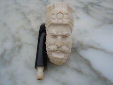 Pipe sculptée tête de Sultan écume de mer